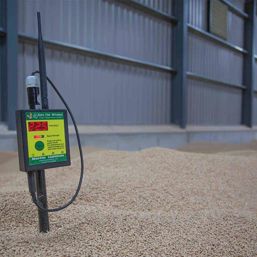 Controle automático do ventilador de colheita