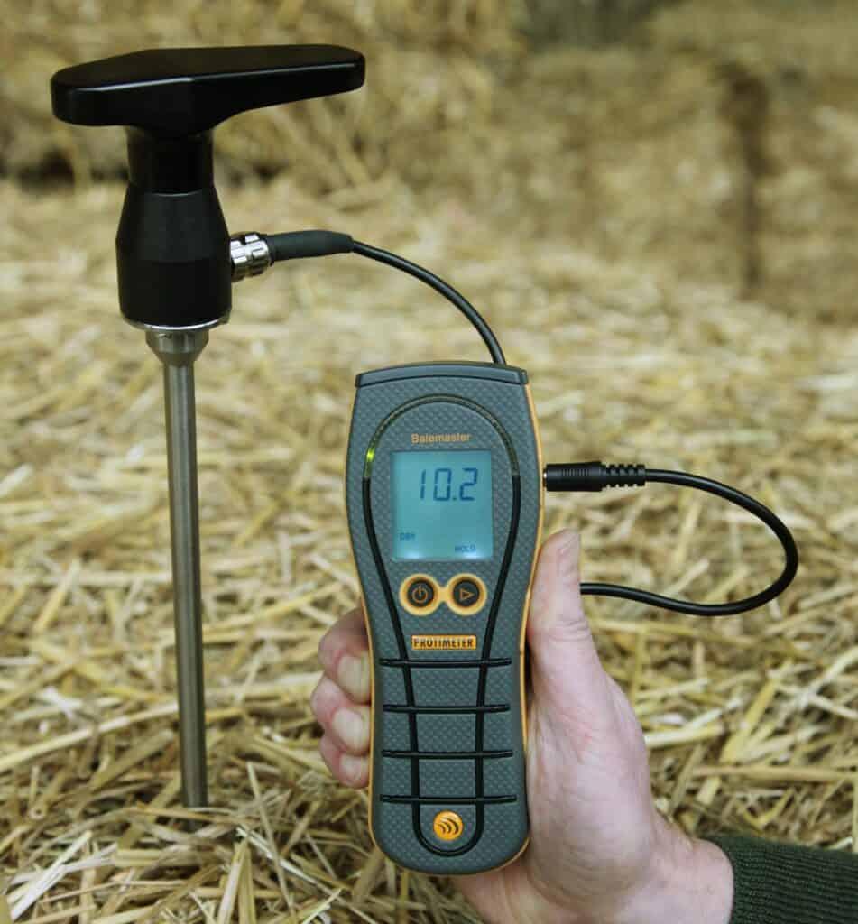 Protimeter Balemaster bale moisture meter with bale probe