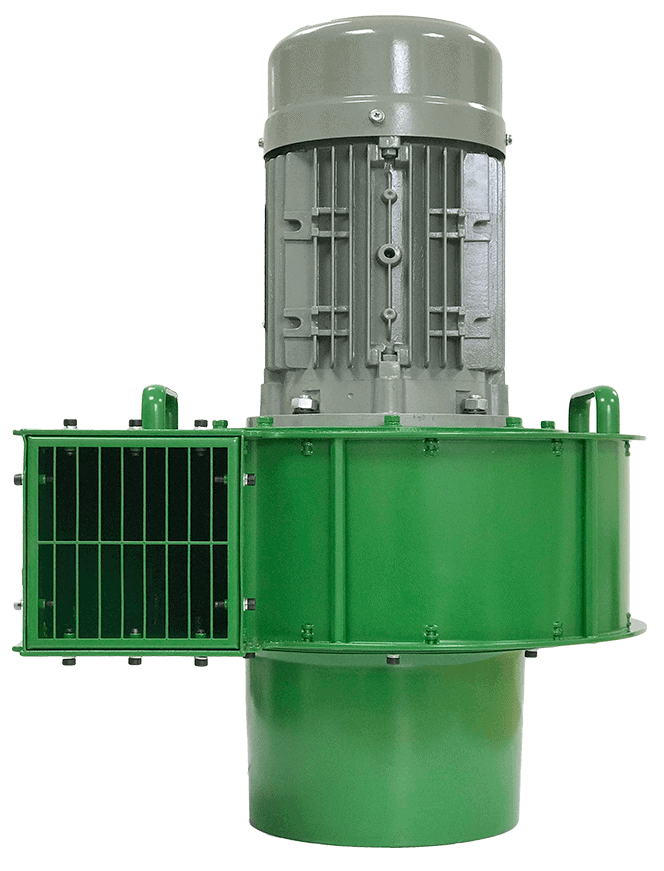 Martin Lishman F3 Green agricultural crop cooling fan