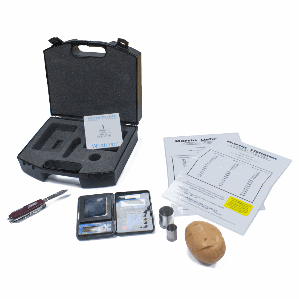 Dry matter measurement with the Martin Lishman dry matter field kit