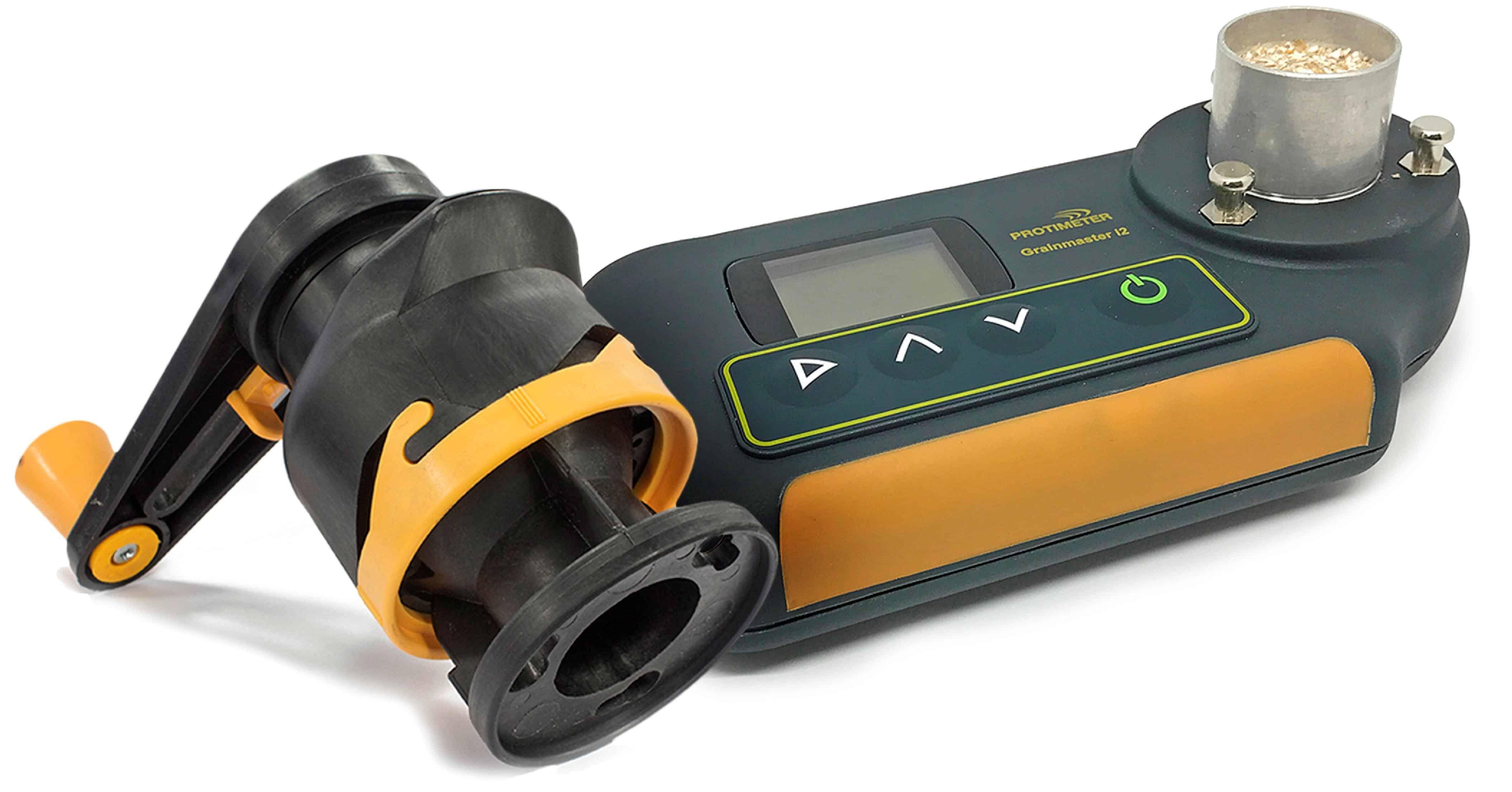 Protimeter Grainmaster i2s Pflanzenfeuchtemessgerät mit Mühlenkompressoreinheit