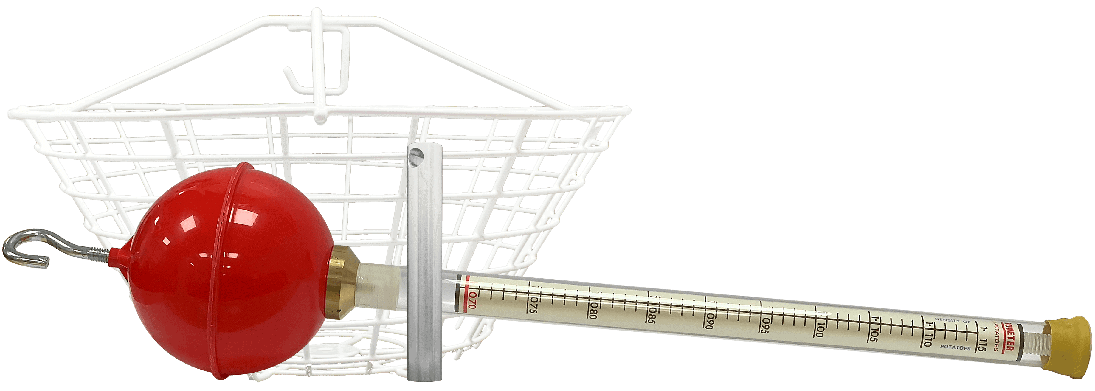 zeal manual hydrometer comes with calibration weight and basket