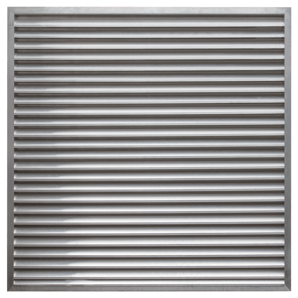 Martin Lishman StoreVent crop store building ventilation system uses high airflow louvres