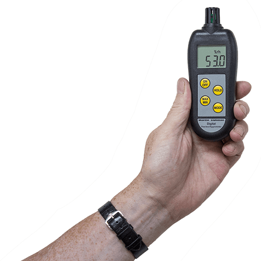 ambient air measurement hygrometers from Martin lishman