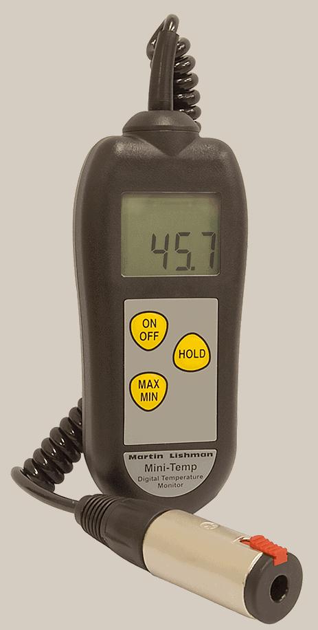 MiniTemp Crop Temperature Monitor