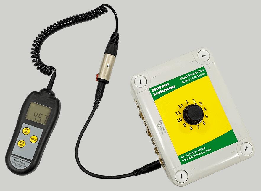 Multi Switch Box with Mini Temp