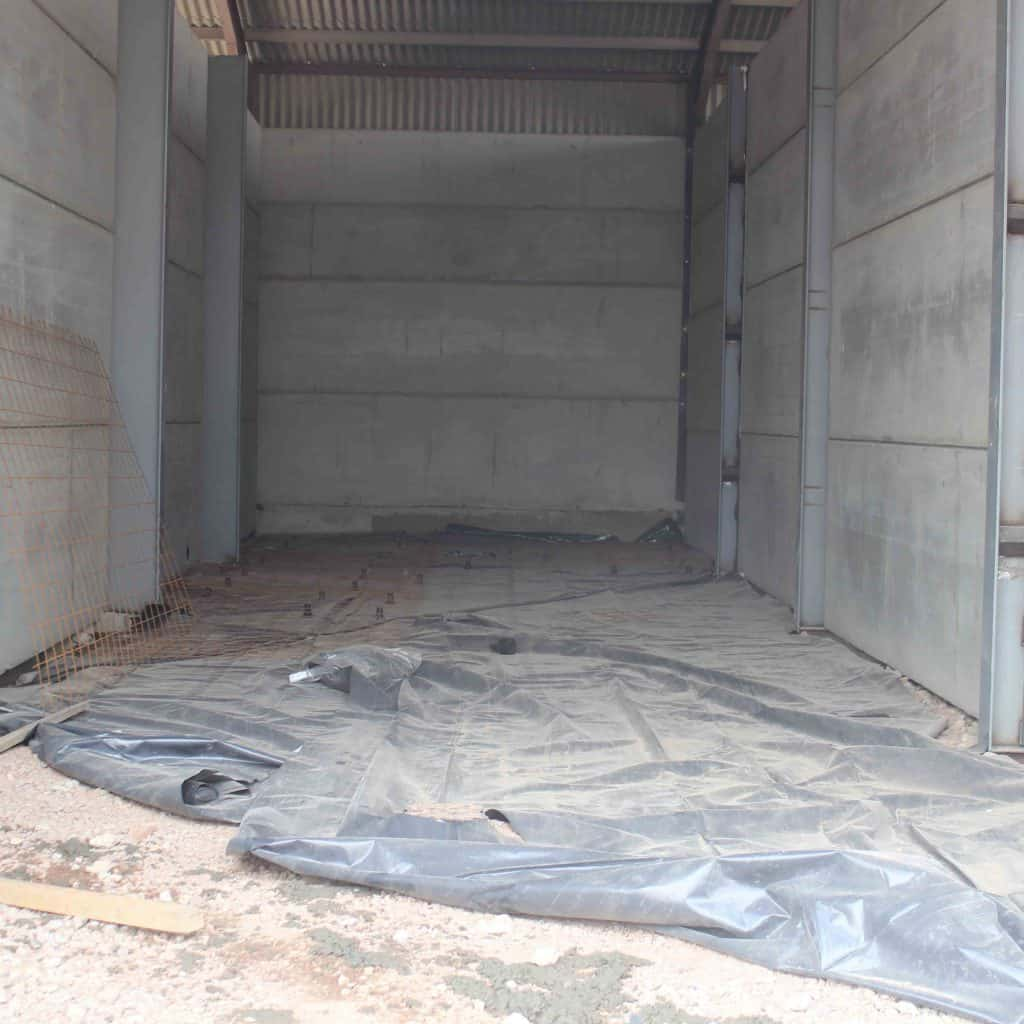 Martin Lishman FloorVent systems are ideal for new grain store builds