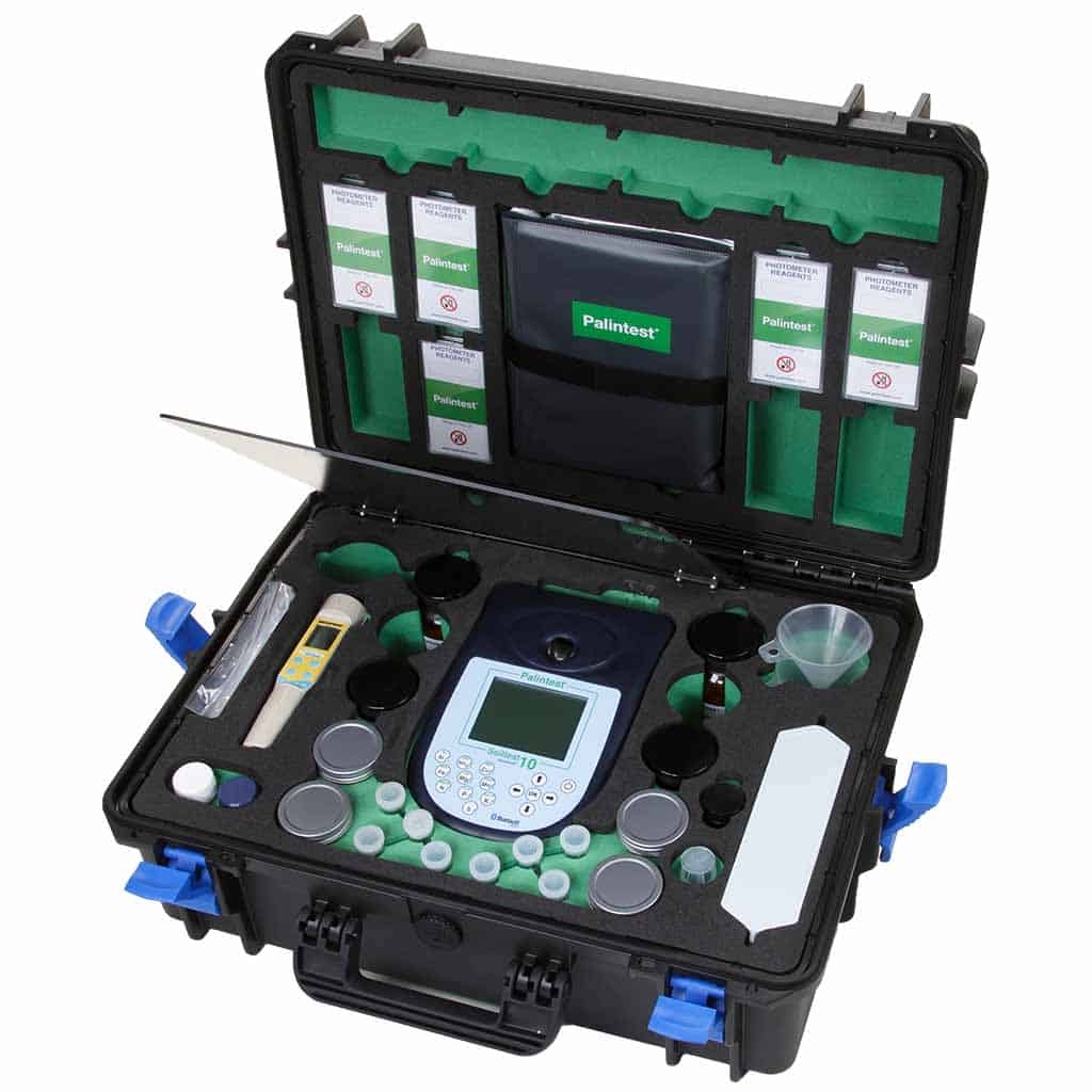 kits de teste de solo