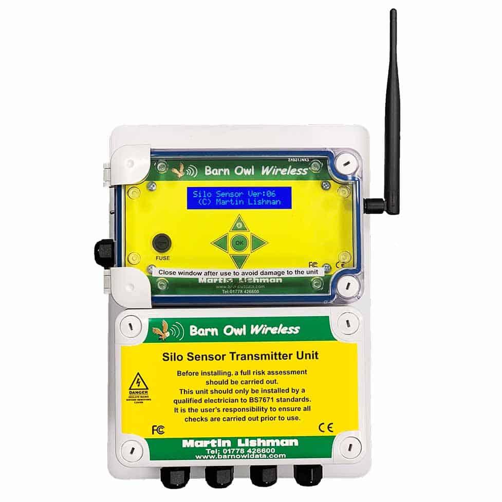 barn owl wireless silo sensor transmitter unit