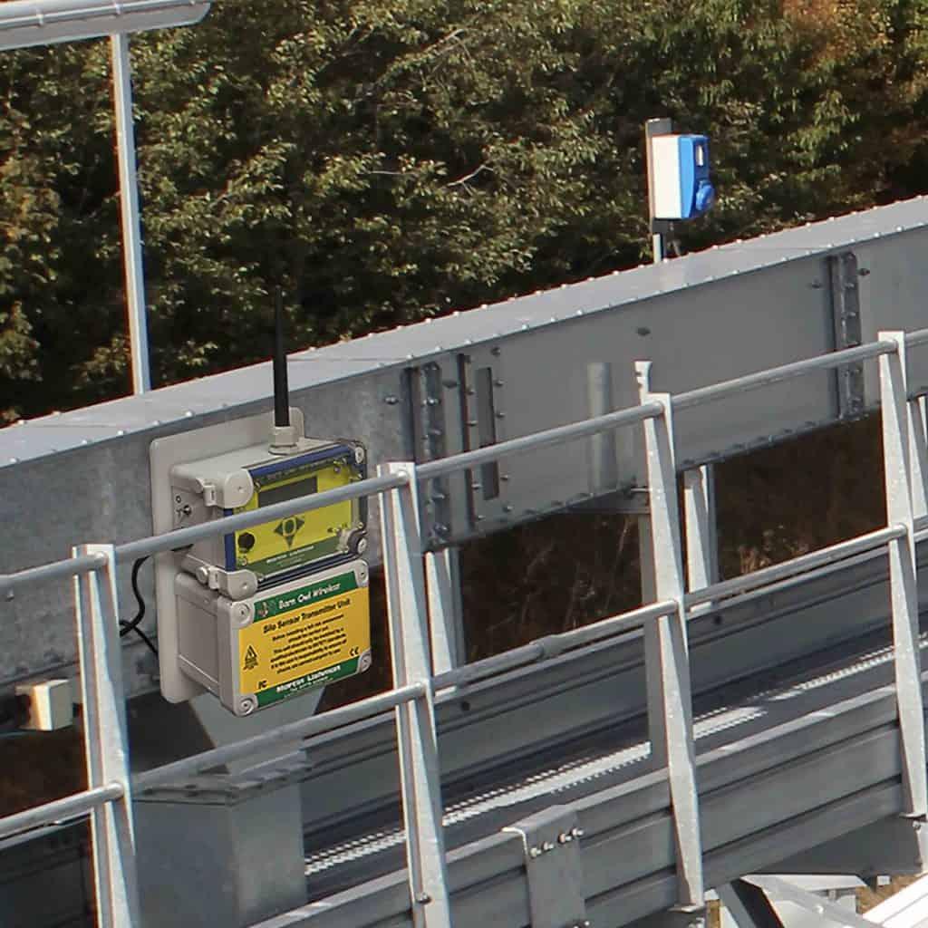Мартин Лисхман Барн сова Бежично аутоматско надгледање и управљање системом усјева на силосу