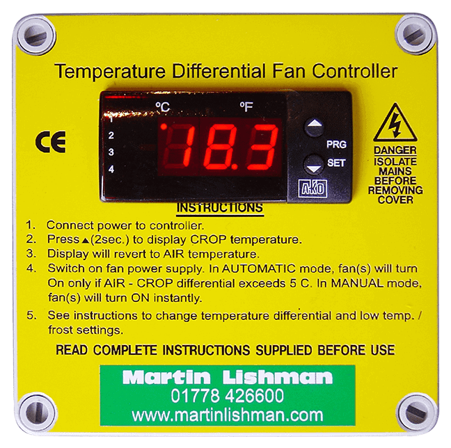 Temperature Differential Fan Control