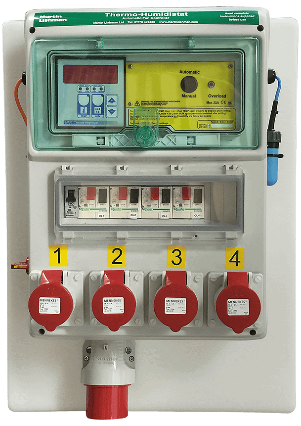 Thermo Humidistat Fan Controller